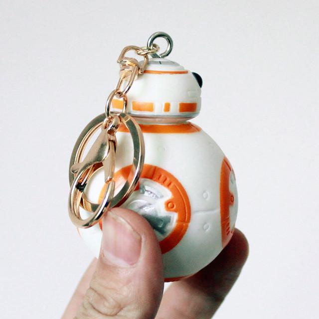 Новый Arivavl позолоченный брелок звездные войны милый BB8 Droid робот куклы солдат клон ремень дети игрушки для детей BL1148
