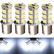 4Pcs Car Vehicle Xenon Pure White 1156 1073 1093 1129 18 SMD Backup Light Indicator Ultra Bright DC 12V(China (Mainland))