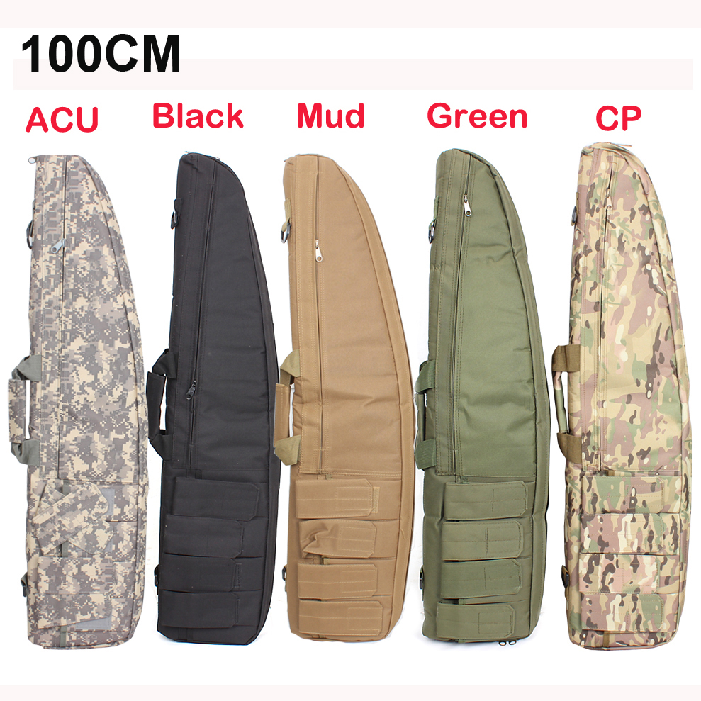 2016 New 100CM Tactical Heavy Gun slip Bevel Carry Bag Rifle Case shoulder pouch for Hunting<br><br>Aliexpress