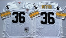 Terry Bradshaw Rocky Bleier LeVeon Bell Franco Harris Jerome Bettis Throwback Pittsburgh(China (Mainland))