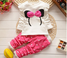 Newborn Girls sets Casual Baby Clothes Cotton Long Sleeve Baby Clothing
