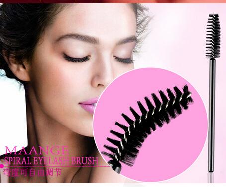 Hot sale One-Off Disposable Eyelash Brush Mascara Applicator Wand makeup Brushes eyes care make up styling tools(China (Mainland))