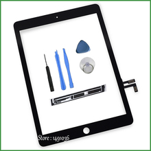 100% Tested Touchscreen Digitizer For iPad Air iPad 5 New Outer Glass Replacement Touch Screen For Tablet iPad Air With Tools