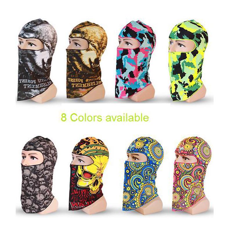 Skull Camouflage Balaclava Outdoor Bicycle Bike Cycling Basketball Golf Ski Hat 3D Headgear Face Mask Hunting Protection Mask(China (Mainland))