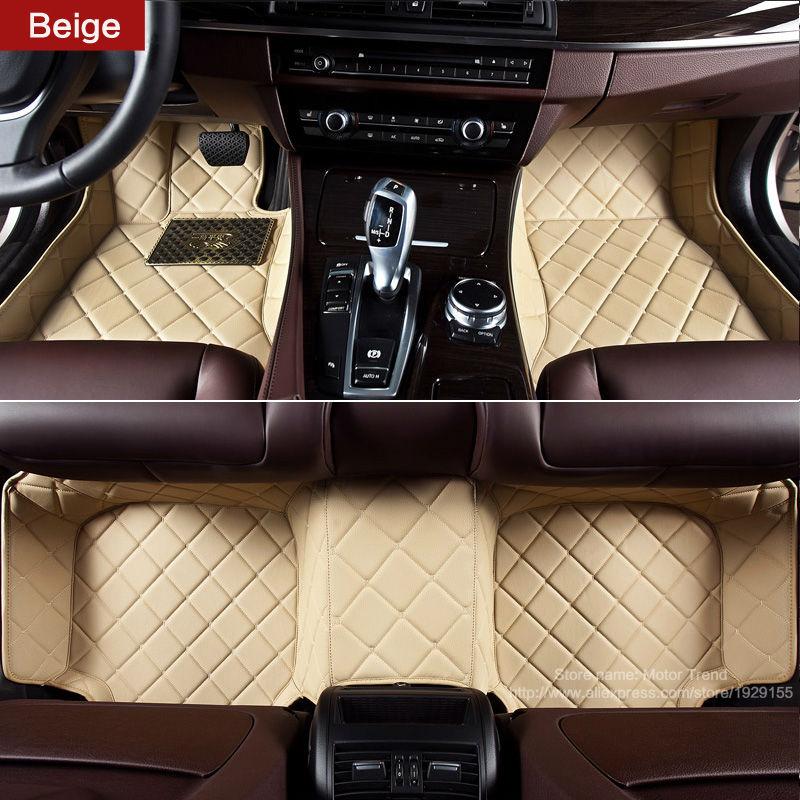 Custom fit car floor mats for Ford Focus MK2 MK3 Edge Escape Kuga Fusion Mondeo Explorer Ecosport 3D car-styling carpet liners(China (Mainland))