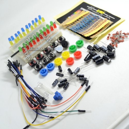 Electronics fans package Electronic components package suite for Arduino free shipping