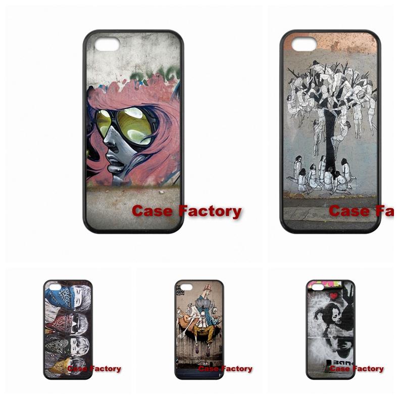 Banksy The Beatles Drawing For Xiaomi Redmi 2 3 Mi5 Samsung Galaxy S3 S4 S5 S6 mini Note 3 4 5 S6 S7 Edge E5 E7 Phone