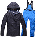 2016 Newest winter Women Ski suits Waterproof windproof ladies Snowboarding sets snow jackets and Snow pants