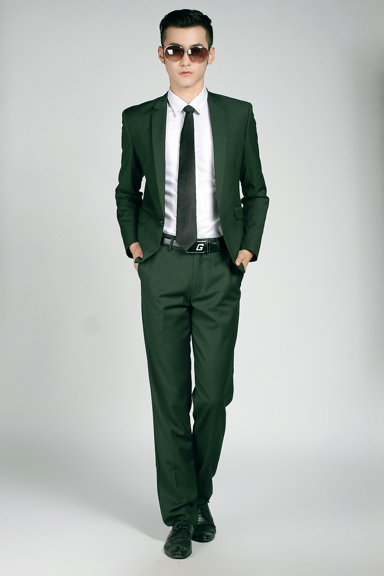 Green Suit Coat