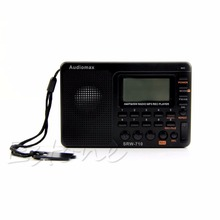 New for Portable Digital Tuning LCD Receiver TF MP3 REC Player AM FM SW Full Band Radio(China (Mainland))