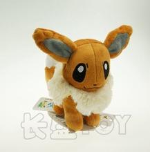 9pcs/lot Pokemon Plush Toys 15cm Size Eevee Gift Plush Toys(China (Mainland))