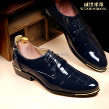 Male leather male genuine leather breathable commercial casual male shoes pointed toe lacing low popular men's(China (Mainland))