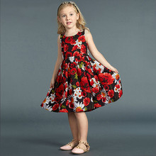 Summer Family Matching Outfits Brand Dress Women Kids Clothing Mother And Daughter Dresses Family Look Family Fitted
