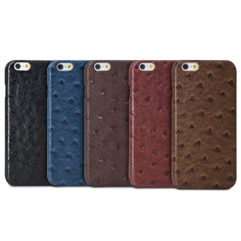 2016 Fashion Ostrich Skin Pattern Accessories Phone Case Cover For iPhone SE 5S 6 6S 6 Plus 6S Plus Cell Phone(China (Mainland))