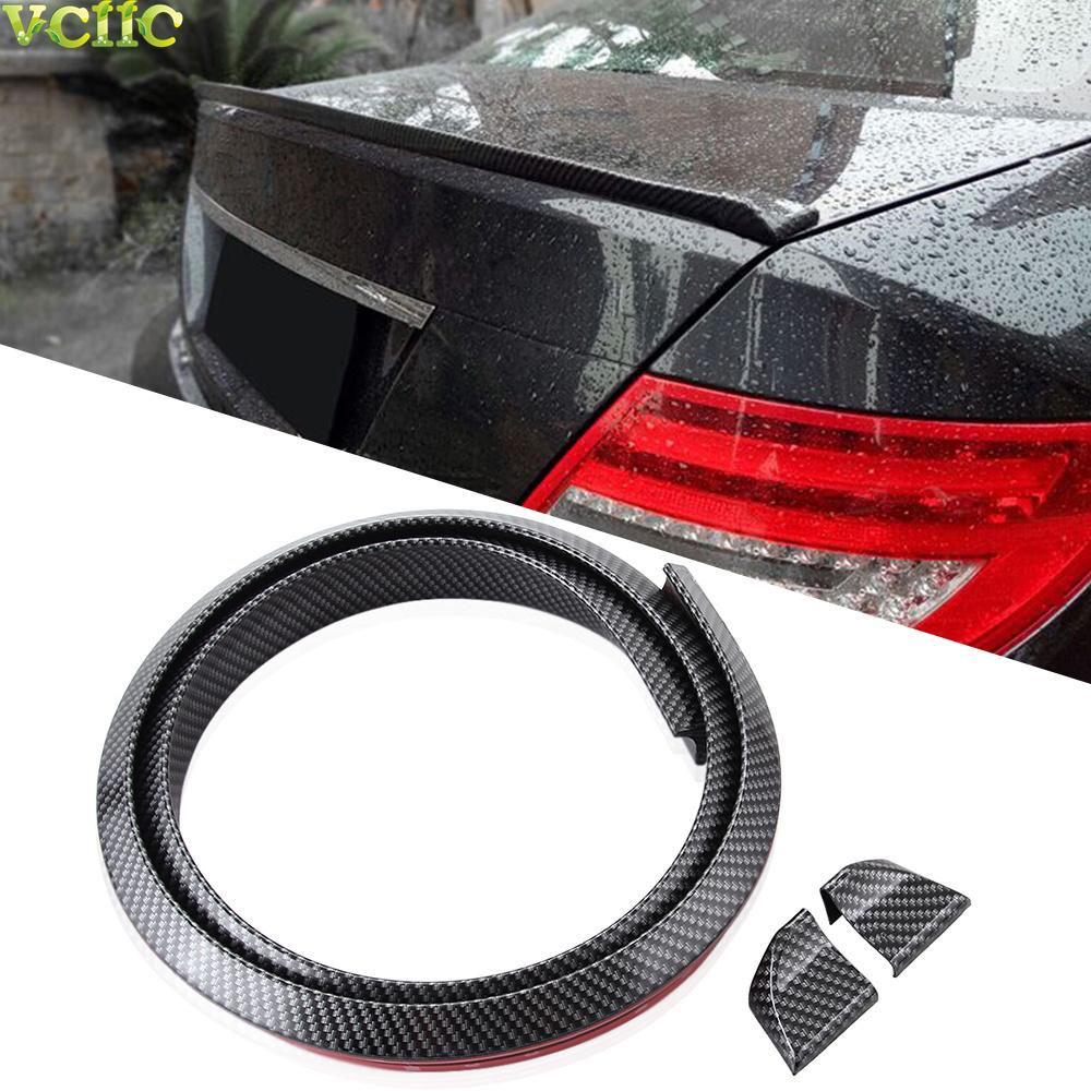 Car Styling ,Carbon Fiber Trunk or Roof Lip Spoiler or Roof Spoiler Body Kit Trim Sticker For Chevrolet Cruze Aveo Malibu Sedan(China (Mainland))