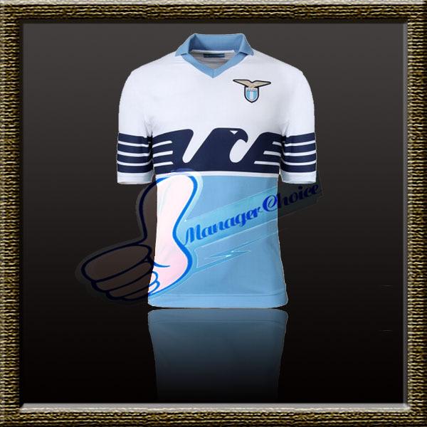 Best Thai Quality 15-16 Lazio Home 115 Anniversary Edition SOCCER JERSEY Miroslav Klose Soccer jersey Antonio Candreva(China (Mainland))