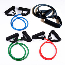 Fitness Resistance Bands Resistance Rope Exerciese Tubes Elastic Exercise Bands for Yoga Pilates Workout Free Shipping 61079