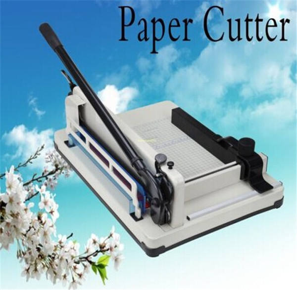 1pc Sent From England - 12 YG 858-A4  Heavy Duty Industrial Guillotine 200 Sheet Normal Paper Cutter  Free Shipping by DHL<br><br>Aliexpress