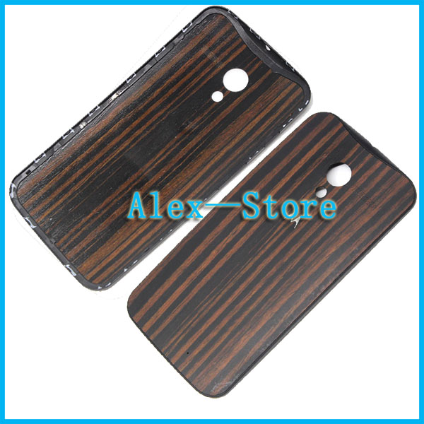 For Motorola Moto X Genuine Natural Wooden Back Cover Battery Door Housing For Motorola Moto X with Logo Housing Free Shipping(China (Mainland))