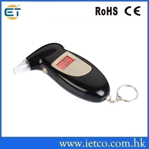 high precision digital keychain alcohol breathalyzer(China (Mainland))