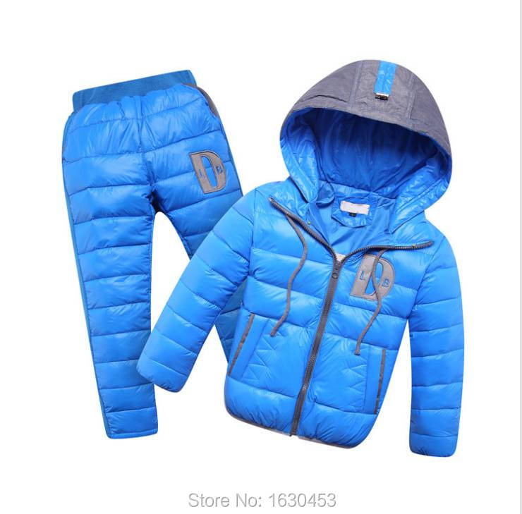 2015 boys clothes set winter jacket thick hooded coat Kids warm fashion solid hooded Parkas Outwear clothing Free Shipping<br><br>Aliexpress