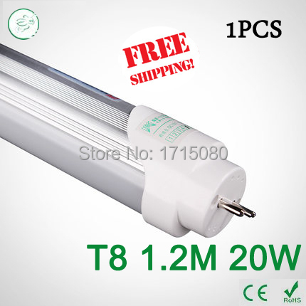 Super Brightness T8 led Tubes 1200mm 20W SMD 2835 Led Bulbs lights Fluorescent Tubes AC85~265V Constant Current(China (Mainland))