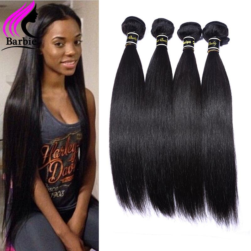 Гаджет  2016 NEW Brazilian Virgin Hair Straight 1 Bundles 100g Wet And Wavy Brazilian Straight Hair Human Hair Weave Rosa Hair Products None Волосы и аксессуары