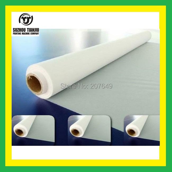 TJ Color is White//400Mesh(160T)/ polyester Silk screen printing mesh (width=1.27meter) 5 meter sales(China (Mainland))