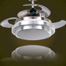modern chandelier  fan light home lighting led lamp living room dining hall lights 220V lustres de cristal avize(China (Mainland))