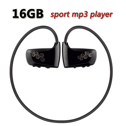 Wholesale W262 16GB Sport Mp3 Muisc Player for Sony Walkman NWZ-W262 Earphones Free Downloads MP3 16GB Headphones(China (Mainland))