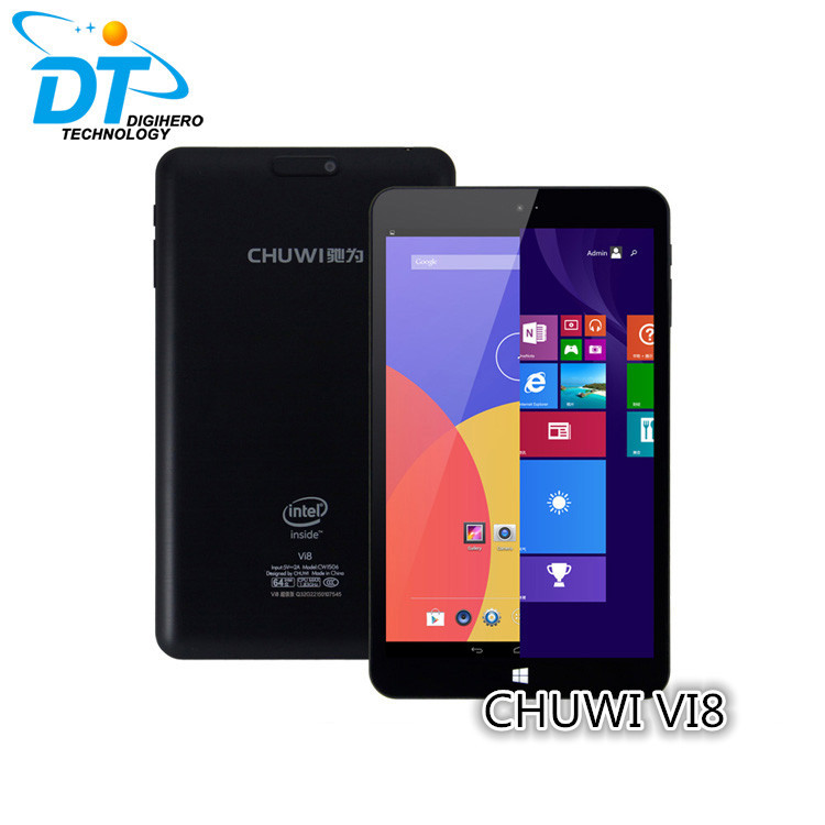 CHUWI VI8 Dual Boot Windows 8 32GB/2GB Tablet Pc Z3735F 1.83 GHZ Quad Core 1280*800 Tablet Pc 5000mAh battery(China (Mainland))