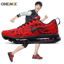 New Men Running Shoes Fashion Run Athletic Trainers Man Red Black Zapatillas Sports Shoe Max Cushion Outdoor Walking Sneakers(China (Mainland))