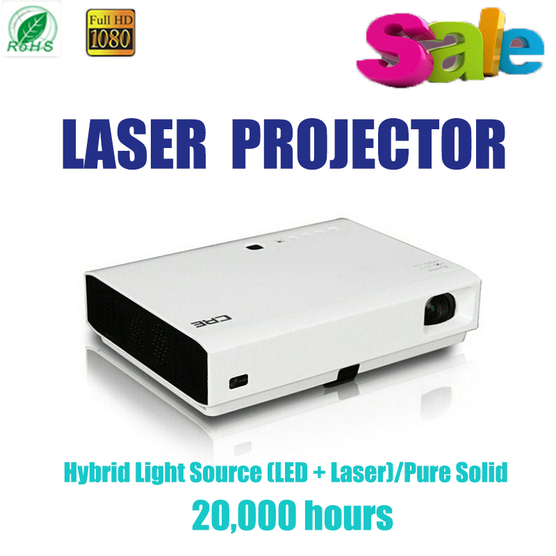 Laser projector 1080P Hybrid Light Source Pure Solid for 20,000 hours 20000:1 Optical Engine MaterialAll-alloy home theater HDMI(China (Mainland))
