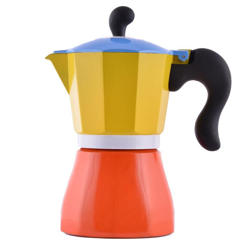 1PC 6cups Italian Moka Espresso Coffee Maker New Item Household Coffee Pot(China (Mainland))