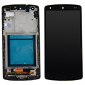 1pcs New For LG Google Nexus 5 D820 D821 LCD Display Digitizer Touch Screen With Frame