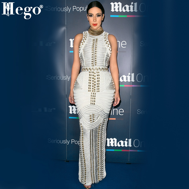 Kim Kardashian White Evening Dress 61