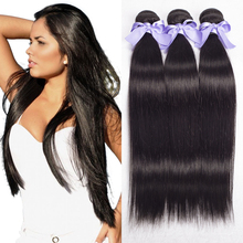 "6A Peruvian Virgin Hair Straight 3 bundles Peruvian Straight Hair 8-30"" Unprocessed Virgin Peruvian Hair 100% Human Hair No Mix(China (Mainland))"