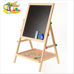 Free shipping Large wooden panel children easel painting kids toys Baby infant child AIDS education learning machine 2015 new(China (Mainland))