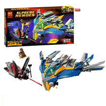10251 MARVEL GUARDIANS OF THE GALAXY Milano Spaceship Rescue minifigures DIY educational building blocks toys Compatible Legoe(China (Mainland))