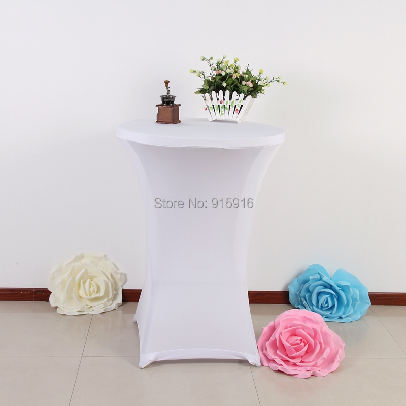 cocktail tablecloths, spandex table cltohs, lycra table cloths(China (Mainland))