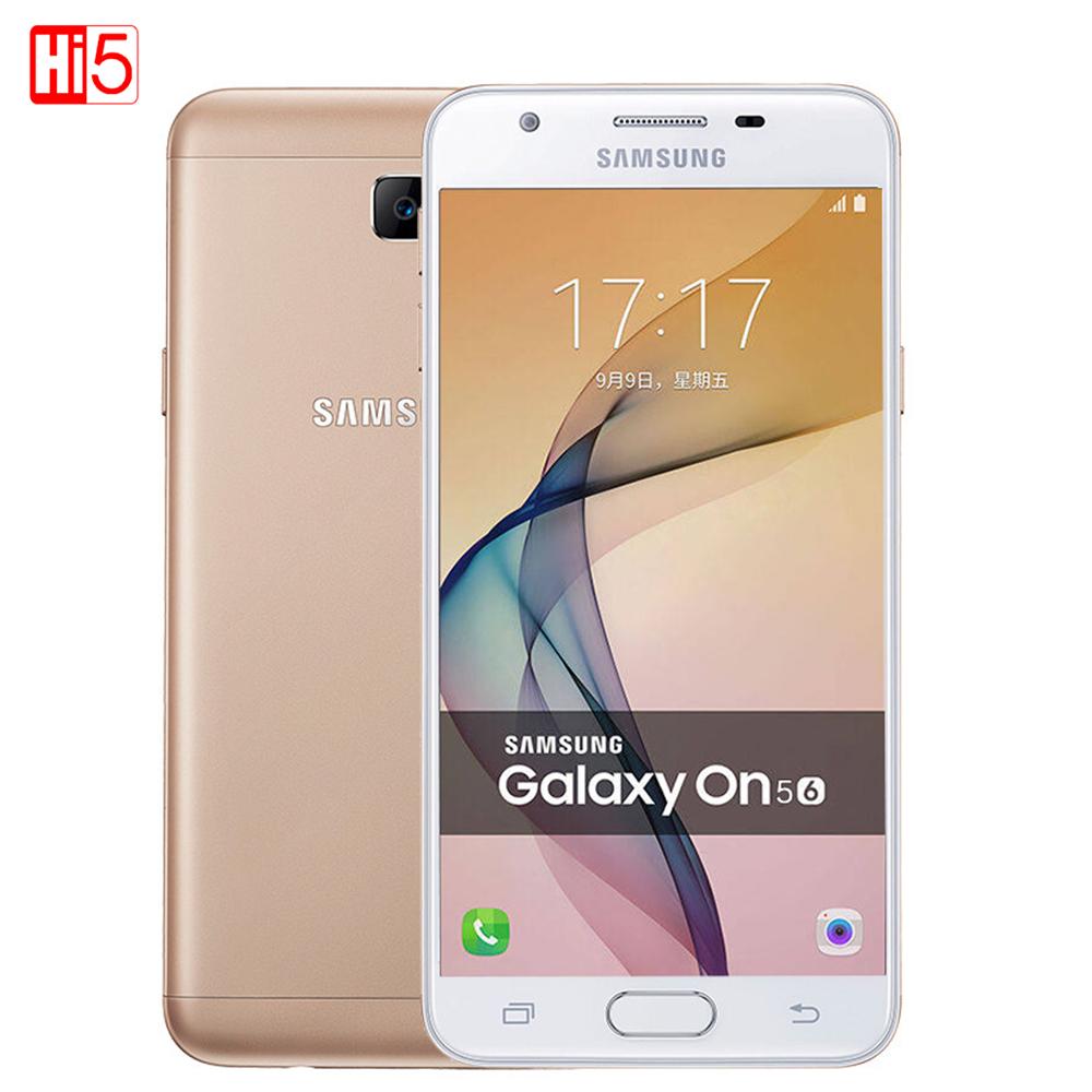 Samsung Galaxy On5 G5510 2016 Dual SIM 5.0'' 2GB RAM 16GB ROM 4G LTE Android 6.0 13MP 2600mAh Dual SIM Metal shell Mobile Phone(China (Mainland))
