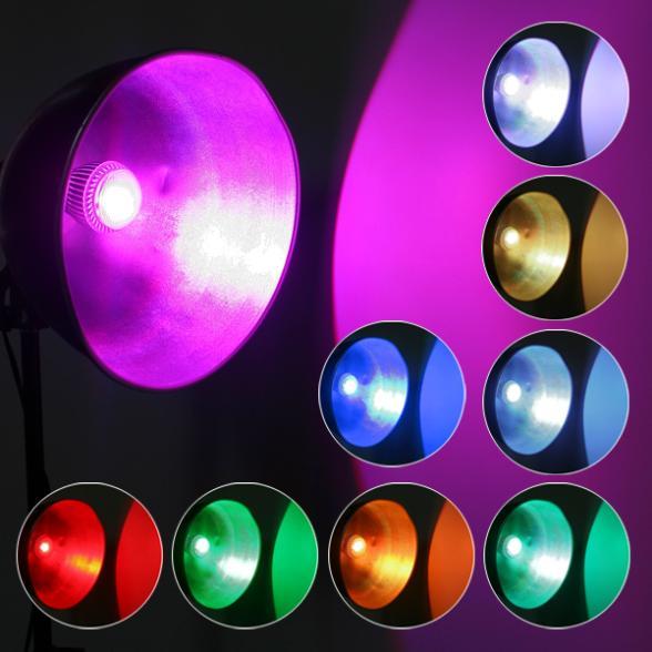 e27 led light bulb color changing lamp remote control in led bulbs. Black Bedroom Furniture Sets. Home Design Ideas