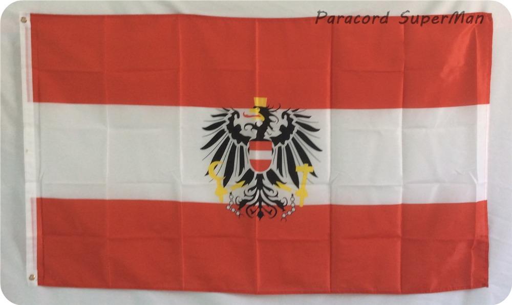 Austria Flag AUT FLAG 90*150cm Hanging Austria National Flag 3*5 ft Office/Activity/parade/Festival/world cup/Home Decoration(China (Mainland))
