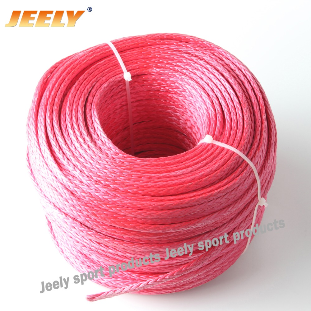 Free Shipping 2mm1000M 8 weaves Spectra Towing Winch Line UHMWPE Cord 1000lbs Dyneema(China (Mainland))
