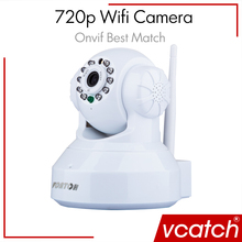 Vcatch IP Camera Wifi Wireless 720P Security Camera Baby P2P Monitor CCTV P/T Micro Camera Surveillance(China (Mainland))