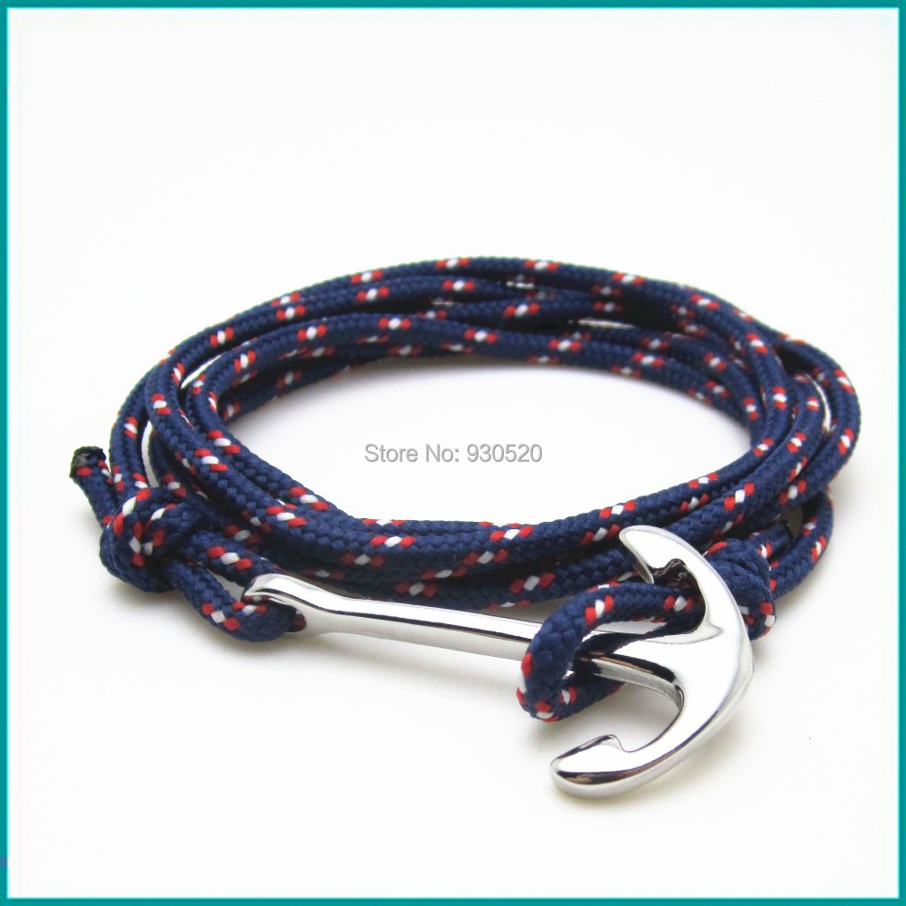 new design Marine Anchor bracelets with ropes()