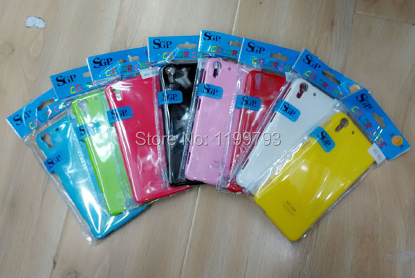 Whole Sale SGP Hard Case For HTC EYE colorful good Price & Good Quality , Brand New & Colorful(China (Mainland))