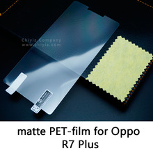 Glossy Clear Lucent Frosted Matte Anti glare Tempered Glass Protective Film On Screen Protector For Oppo R7 Plus