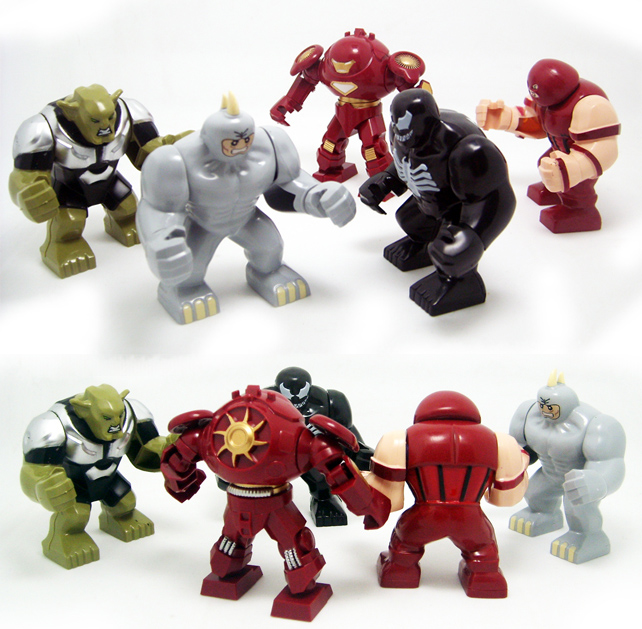 Decool Super Heroes Minifigures Hulk IRON MAN Building Blocks Action Figures Bricks Compatible 8star Marvel Avengers Toys - 8 STAR MALL store
