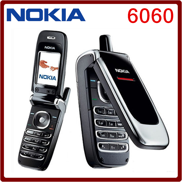 Nokia 6060 Original Unlocked Nokia 6060 mobile phone DualBand JAVA Classic GSM Cheap Cell Phone High quality Free shipping(China (Mainland))